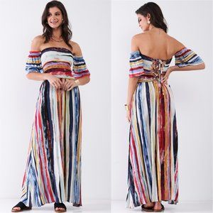 THE PAINTER'S MASTERPIECE MAXI DRESS